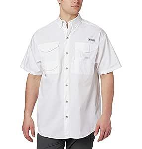 Columbia Men's Bonehead Long Sleeve Shirt,White,XX-Large