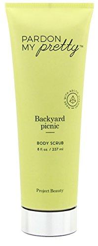 Backyard Picnic Body Scrub with Arctic Vitamins by Pardon My Pretty, 8 Ounce