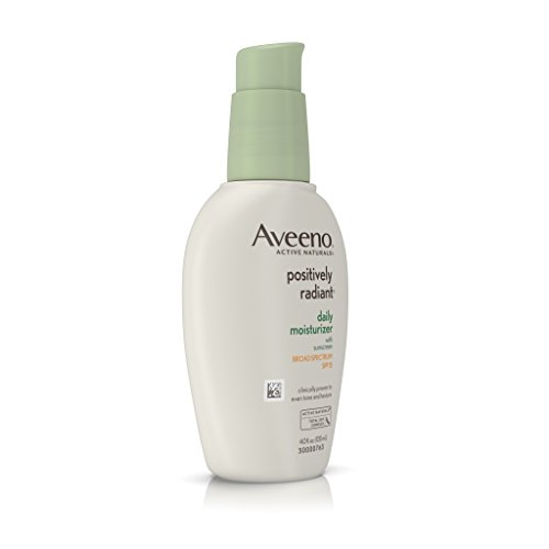 Aveeno Positively Radiant Daily Moisturizer With Sunscreen Broad Spectrum Spf 15, 4 Oz by Aveeno (Image #2)
