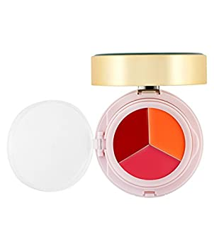 PRPL Glow Dual Foundation 23 Pure Beige Lip Balm Pink Lip Balm Orange Lip Balm Red Marble Foundation Compact SPF50 , PA Base Makeup Korean Make-up Cosmetics