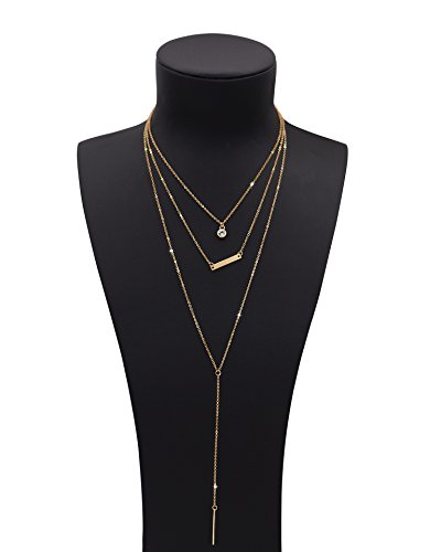 Boosic layered Custom Pendant Necklace