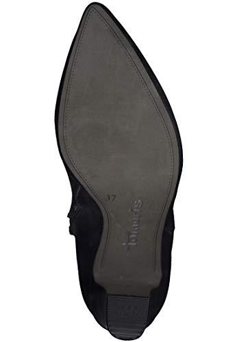 Dunkelblau 1 Tamaris Stiefel Metallic Damen 25320 824 Navy Trend 21 76x6Awq8