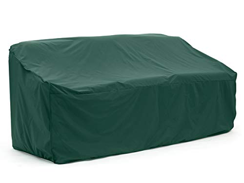 Covermates - Outdoor Patio Sofa Cover - 82W x 40D x 40H - Classic Collection - 2 YR Warranty - Year Around Protection - Green