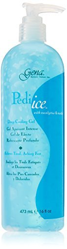 GENA Pedi Ice Gel, 16 Oz W/pump by Gena