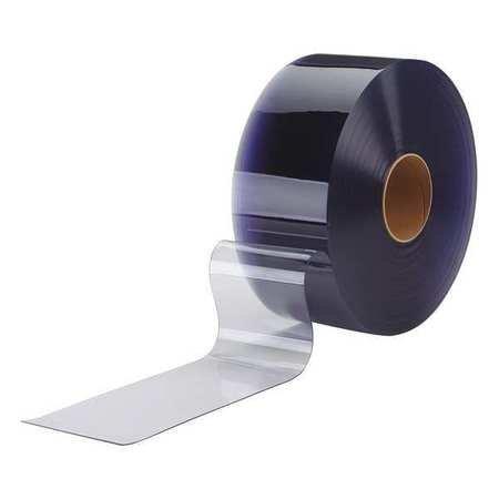 Flexible Bulk Rolls, Smooth, 8in, Clear, PVC by TMI