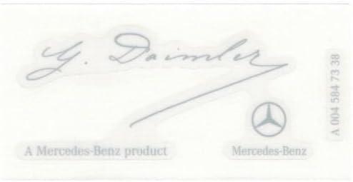 Genuine Mercedes-Benz  Unimog 437 427 Sticker A4375841426