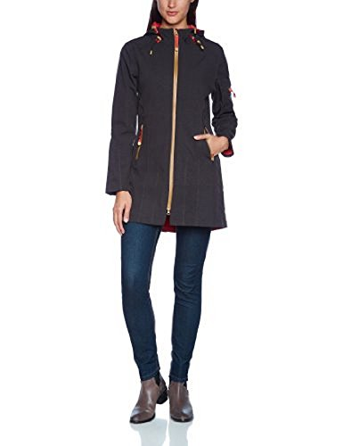 Ilse Jacobsen Rain07B Jacket - Women's Black / Raspberry 42