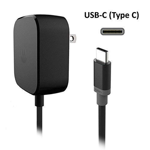 4XG Replacement Nokia USB Type C Wall Charger (15 Watt) with 5 Ft Attached Cable ()