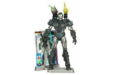 - Iron Man 2 Comic Series Action Figure War Machine