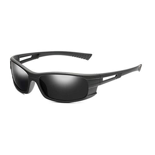 WZYMNTYJ クラシック偏光サングラス男性女性新しい運転黒フレームサングラス男性ゴーグルUV 400