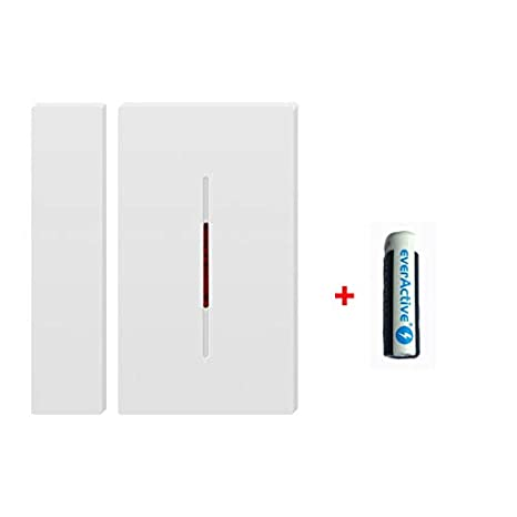 Sonoff Sonoff DW1 433 Mhz Wireless Anti-Theft Door And Window Alarm Sensor for Smart Home Automation Security Alarm System, work with RF 433 Bridge ...