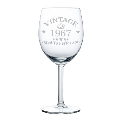 Wine-Glass-Goblet-50th-Birthday-Vintage-Aged-To-Perfection-1967