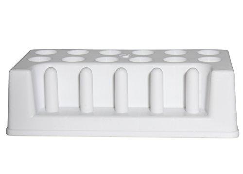 Bel-Art H18923-0000 Test Tube Rack; 18-20mm, 12 Places, 8 x