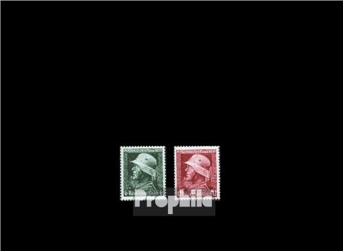 German Empire 569x-570x (complete.issue.) vertical gummiriffelung 1935 Memorial Day (Stamps for collectors)