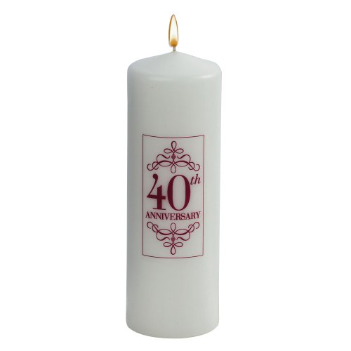 Jamie Lynn Wedding 40th Anniversary Collection, Unity Candle ()