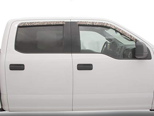 Stampede 6160-14 Tape-Onz Side Window Deflector, 4 Piece (Mossy Oak Shadow Grass Blades Camo Pattern)