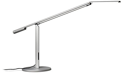 Koncept ELXAWSILDSK Equo LED Desk Lamp Warm Light Silver – Koncept Desk Lamp