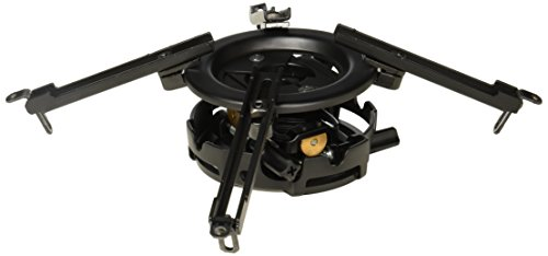 Peerless-AV PRG-UNV | Precision Projector Mount with Spider Universal Plate Black by Peerless