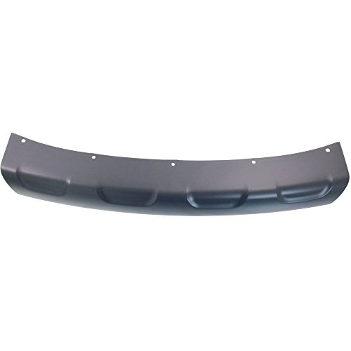Bumper Molding compatible with Dodge Journey 11-17 Front Applique Primed AWD w/Fascia Type 2