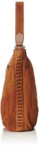 Gabor Damen Rimini Schultertasche, 30x15x37 cm Braun (Cognac)