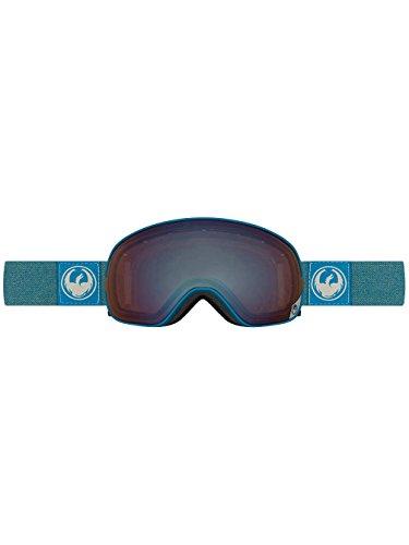 Dragon 30786 664 Hone Blue Optimized Flash Blue X2S Visor Goggles Lens - Blue Hone