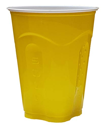 (Solo Squared Cups, 18 Oz, Yellow, 60)