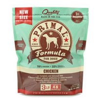 Primal Pet Foods 850010 Canine Chicken Nuggets, 3-Pound by Primal