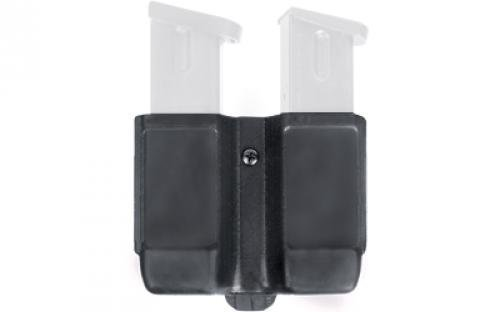 Magazine Case Belt - BLACKHAWK! Double Stack Double Mag Case (9 mm, 10mm.40 Cal, and .45 Cal), Matte Finish