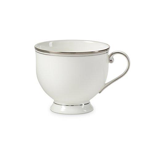 - Mikasa Gothic Platinum Tea Cup, 8 oz, Silver