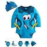 (Disney Store Dory Costume Bodysuit for Baby (Size 6-9)