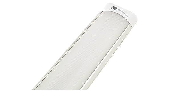 Kodak - Plafón LED SMD de 26 W, diseño ultrafino, luz fría, 90 cm, código SKU 53501-EU-6000K: Amazon.es: Iluminación