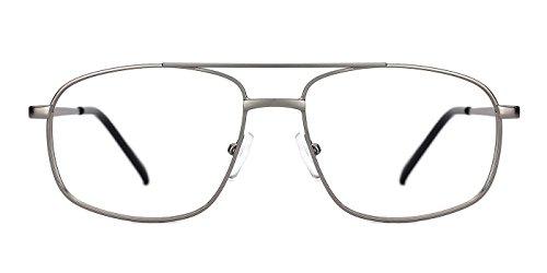 TIJN Plateado Gafas de hombre sol para 010qU