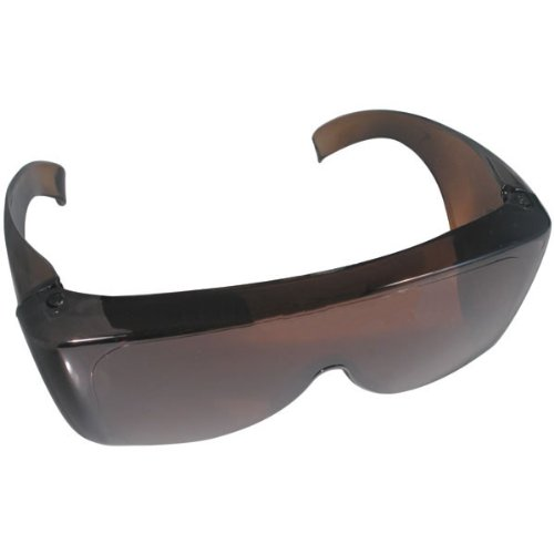 NoIR FitOver Sunglasses Prescription Eyewear: Medium Amber U701 Glare ()