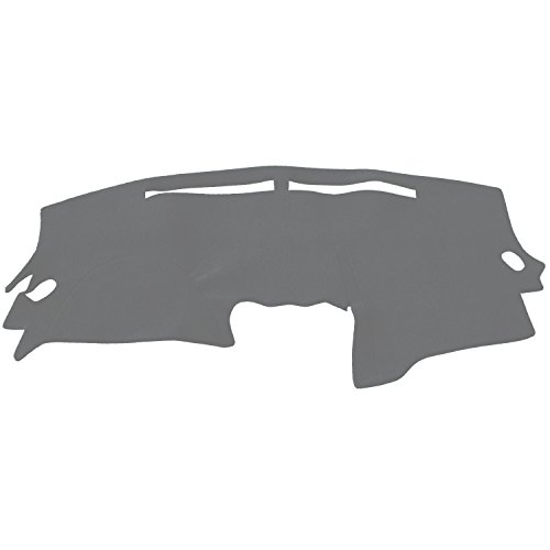 Hex Autoparts Dash Cover Mat Dashboard Pad for Nissan Altima 2007 2008 2009 2010 2011 2012 (Gray)