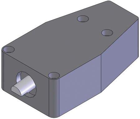 De-Sta-Co Pneumatic Retractor Clamp, Input Pressure = 70 - 150, Exerting Force = 850 - 1,500