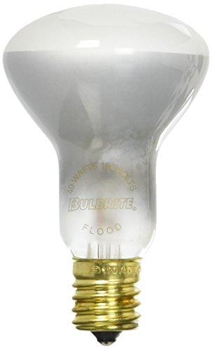 Bulbrite 40R16N 40-Watt Incandescent R16 Mini Reflector Light Bulb, Intermediate Base