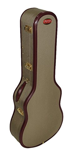 fa40561b6e5 Ameritage AME-11 OM-Style Acoustic Guitar Case with: Amazon.in ...