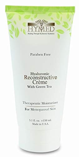 Hymed Hyaluronic Reconstructive Creme with Green Tea - 5.1 fl oz - Menopausal Skin Therapy - Rapid Skin - Tea Green Creme