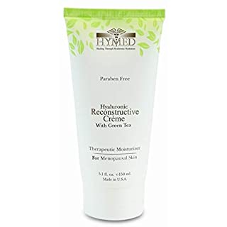 Hylunia Hyaluronic Reconstructive Creme with Green Tea - 5.1 fl oz - Menopausal Skin Therapy - Rapid Skin Repair