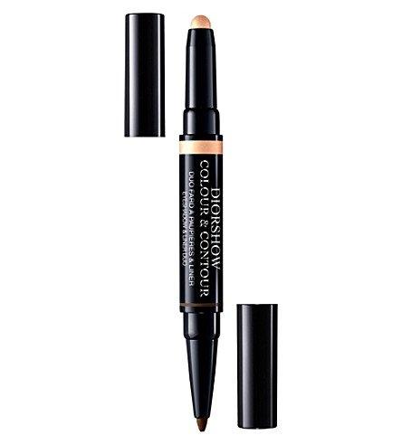 Dior One Colour Eye Shadow - Dior Diorshow Colour & Contour Eyeshadow & Liner Duo - Shell Bronze No. 630
