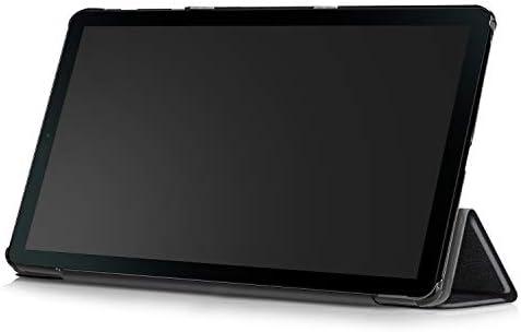 2019 Samsung Galaxy Tab A ten.1-inch Touchscreen (1920x1200) Wi-Fi Tablet Bundle, Exynos 7904A Processor, 2GB RAM, 32GB Memory, BMali-G71 MP2 Graphics, Bluetooth, Tigology Case, Android 9.0, Silver