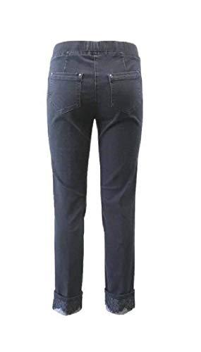 In Blu 15117 Svolta Inserti Jeans Con Pizzo Art Stretch InwqxnCZpg