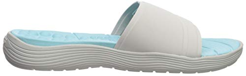 pearl 117 White Crocs Blanc Slide pearl Women Ouvert Sandales Bout Reviva Femme White qH7rqv