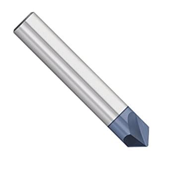 2 Flute 90 Degree 1//4 Shank Kodiak Cutting Tools KCT252828 USA Made Solid Carbide Chamfer Mill AlTiN Coated 1//4 Diameter 2-1//2 Overall Length
