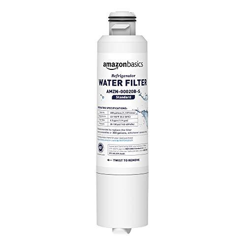 AmazonBasics Replacement Samsung DA29-00020B Refrigerator Water Filter- Standard Filtration
