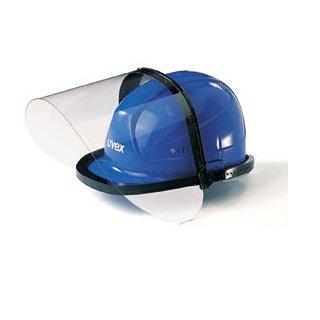 9820d6595aba4 UVEX Visière visage protection écran 9721 en polystyrène