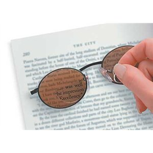 Peelaway Magnifying Lenses, +3.0, Clear, Pr