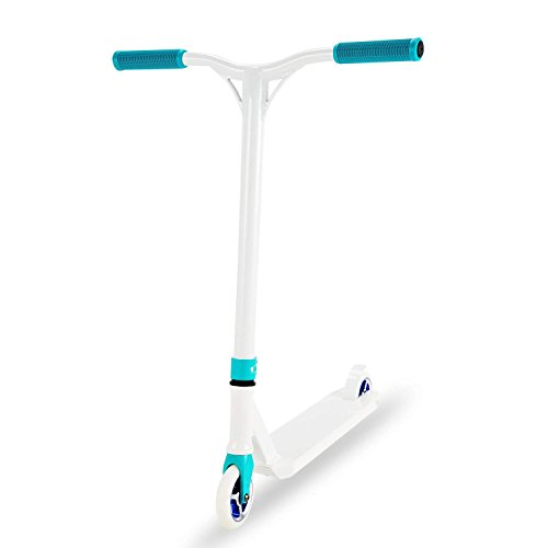 (OUKU District V4 Pro Scooter/Stunt Scooter Complete for Adults and Kids - High Performance Gift for Skate Park Street Tricks, Great Smooth and Quiet Lean-to-Steer Scooter)
