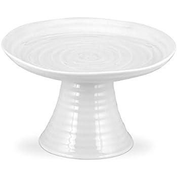 Portmeirion Sophie Conran White Mini Cake Stand  sc 1 st  Amazon.com & Amazon.com   Portmeirion Sophie Conran White Mini Cake Stand ...