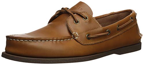 (Tommy Hilfiger Men's Bowman Boat shoe, Brown, 7 M US)
